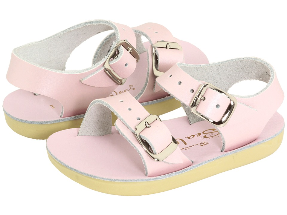 Salt Water Sandal by Hoy Shoes - Sun-San - Sea Wees (Infant/Toddler) (Shiny Pink) Girls Shoes
