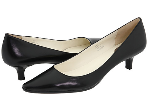 Calvin Klein - Diema (Black Leather) Women's 1-2 inch heel Shoes