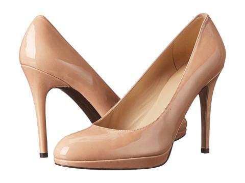 Stuart Weitzman - Platswoon (Adobe Aniline Patent) High Heels