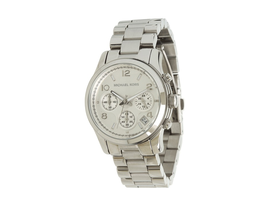 Michael Kors - MK5076 - Runway Chronograph (Silver) Watches