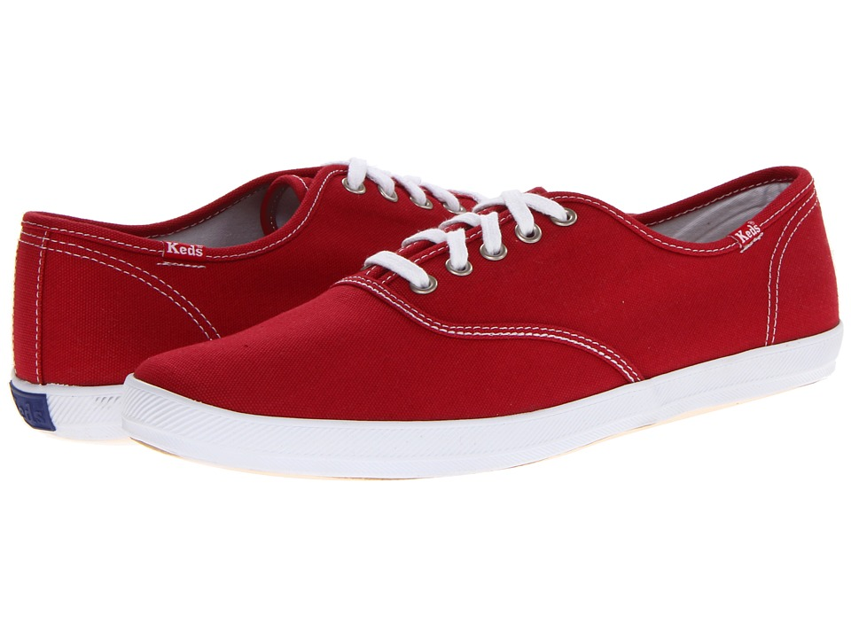 Keds - Champion Cvo (Red) Men's Lace up casual Shoes