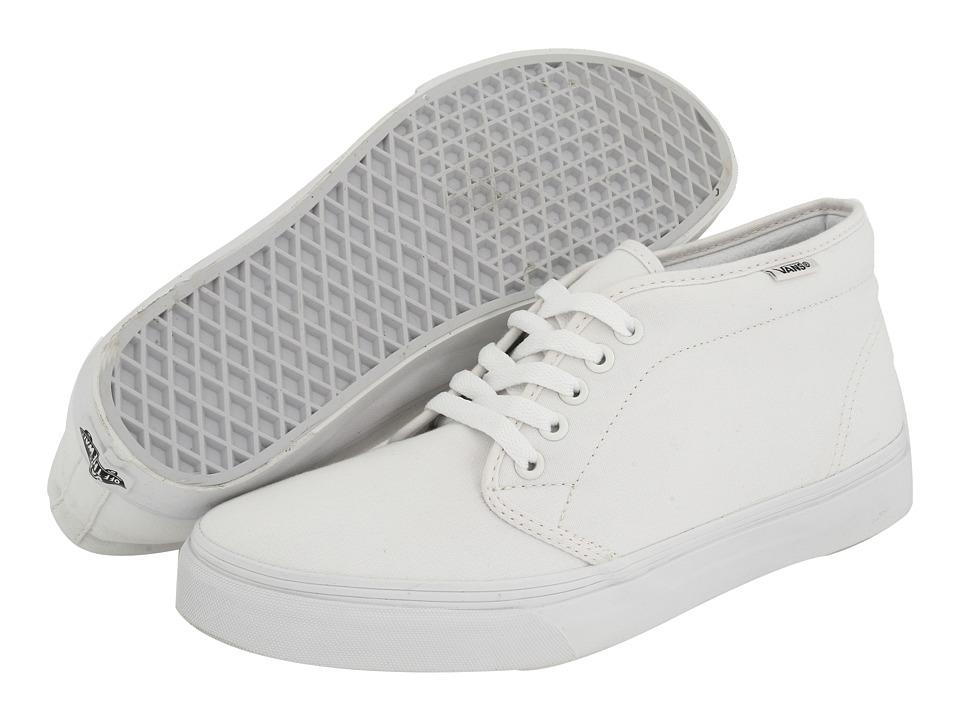 Vans Chukka Boot Core Classics (True White Canvas) Shoes
