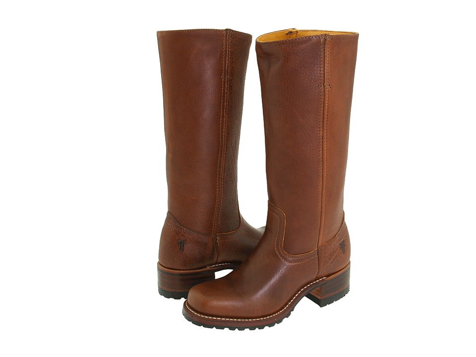 Frye - Campus 14G (Brown Leather) Cowboy Boots