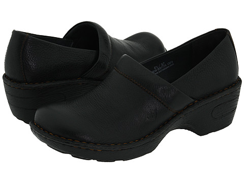 Born - Toby (Black Full-Grain Leather) Women's Clog Shoes