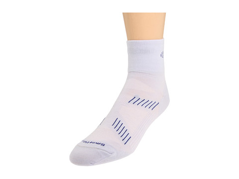 Smartwool - PhD Cycle Ultra Light Mini 3-Pack (Silver/Navy) Men's Quarter Length Socks Shoes