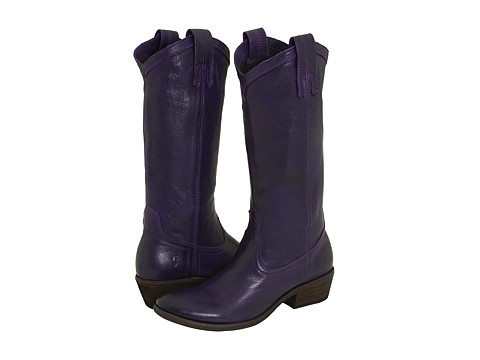 Frye - Carson Pull On (Plum Leather) Women's Pull-on Boots