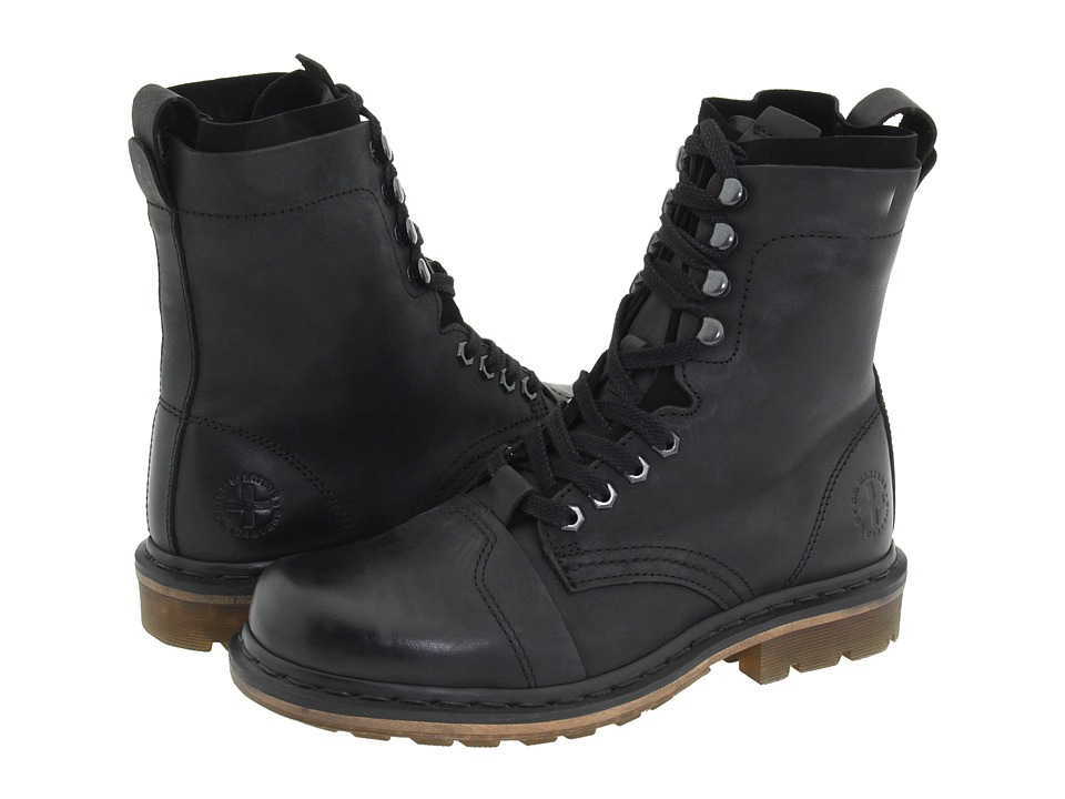 Dr. Martens - Pier (Black Wyoming/Suede) Boots