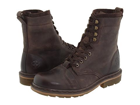 Dr. Martens - Pier (Dark Brown Wyoming/Suede) Boots