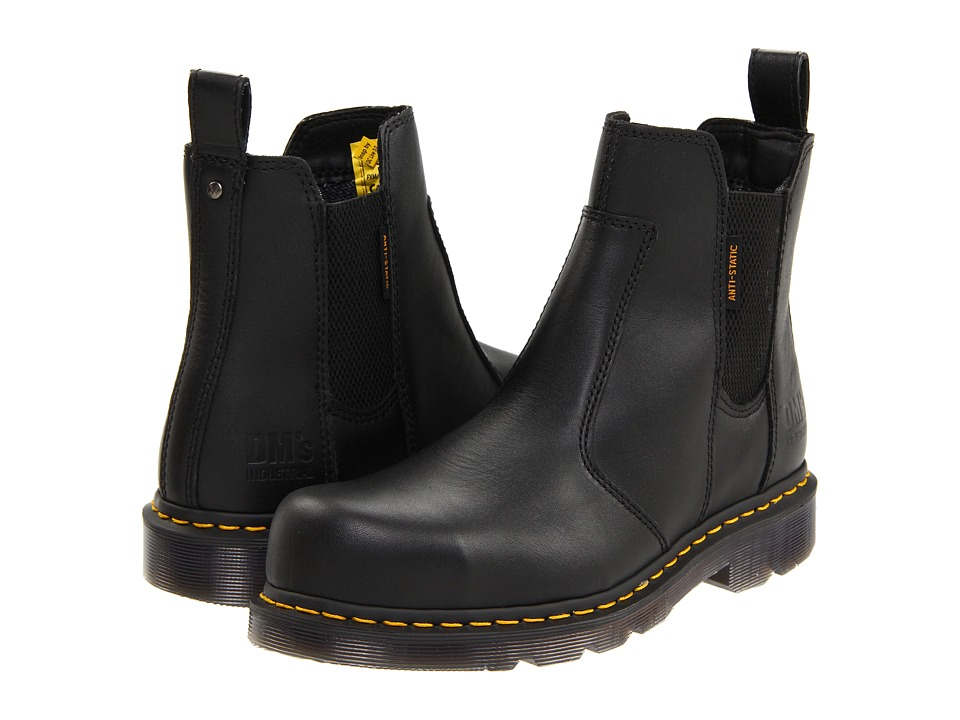 Dr. Martens - Fusion ST (Black Industrial Full Grain) Boots