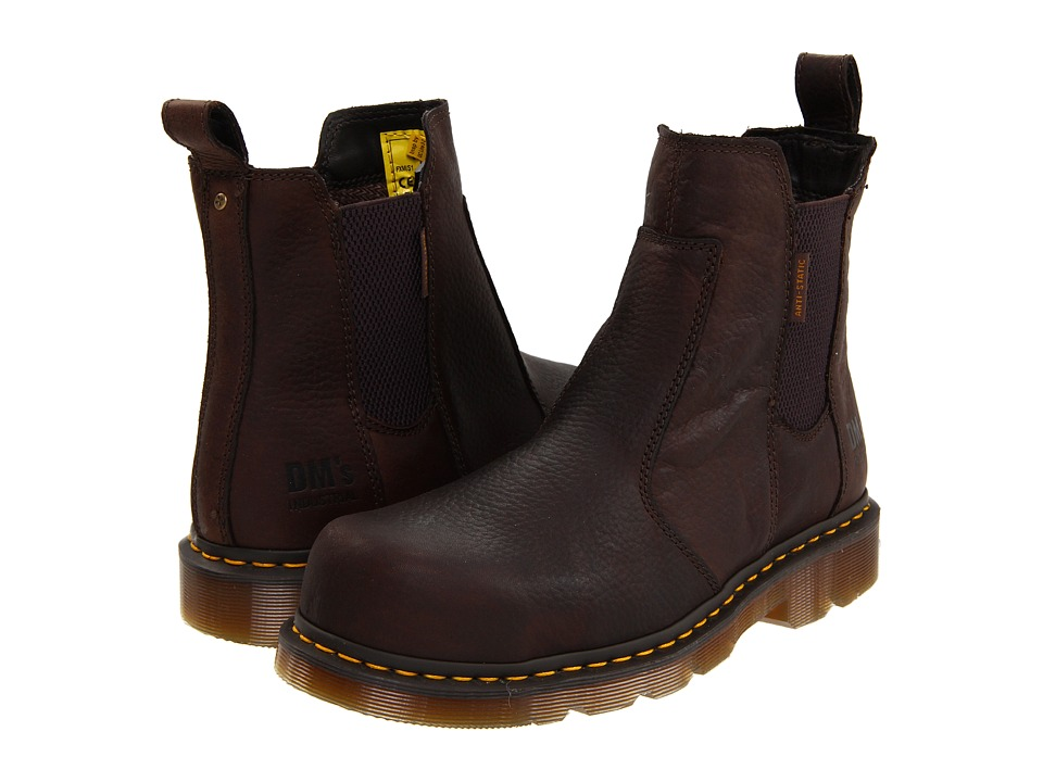 Dr. Martens - Fusion ST (Bark Industrial Bear) Boots