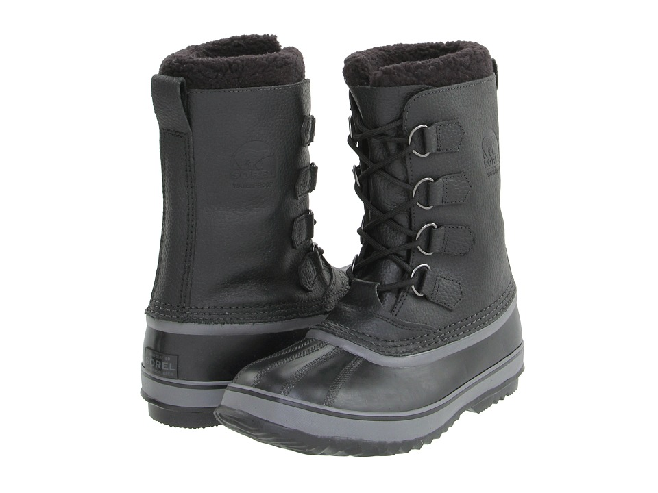 SOREL - 1964 Pac T 2 (Black) Men's Cold Weather Boots