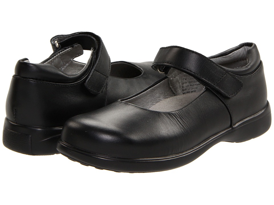 Jumping Jacks Kids - Tutor (Adult) (Black Leather) Girl's Shoes