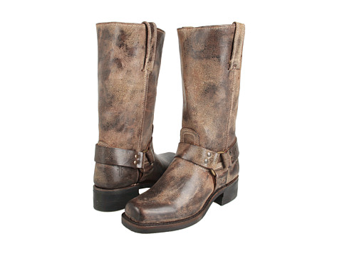 Frye - Harness 12R (Chocolate) Cowboy Boots