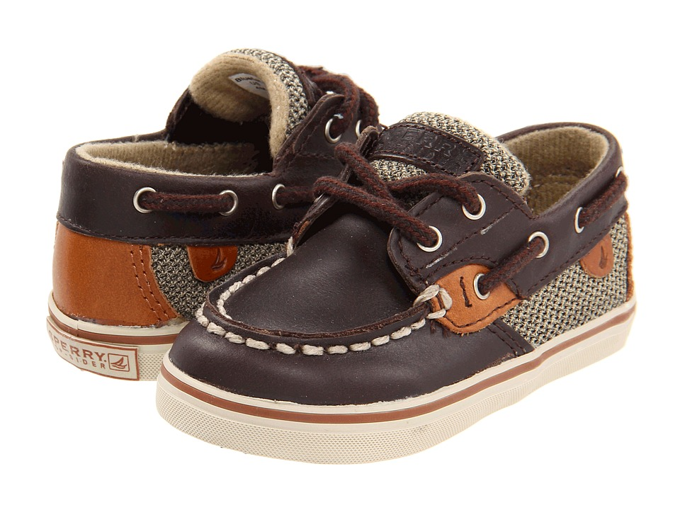 Sperry Kids - Bluefish (Infant/Toddler) (Chocolate) Kids Shoes