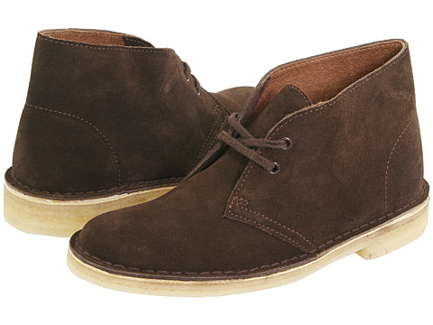 Clarks - Desert Boot (Chocolate Suede) Women