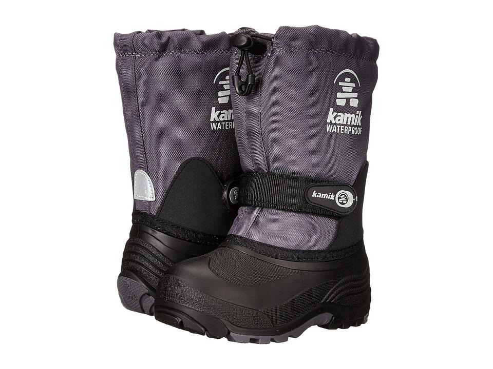 Kamik Kids - Waterbug (Toddler/Little Kid/Big Kid) (Charcoal) Boys Shoes