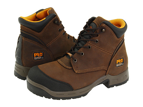 Timberland PRO - TriFlex 6 Waterproof TiTAN XL Safety Toe (Brown) Men's Work Lace-up Boots