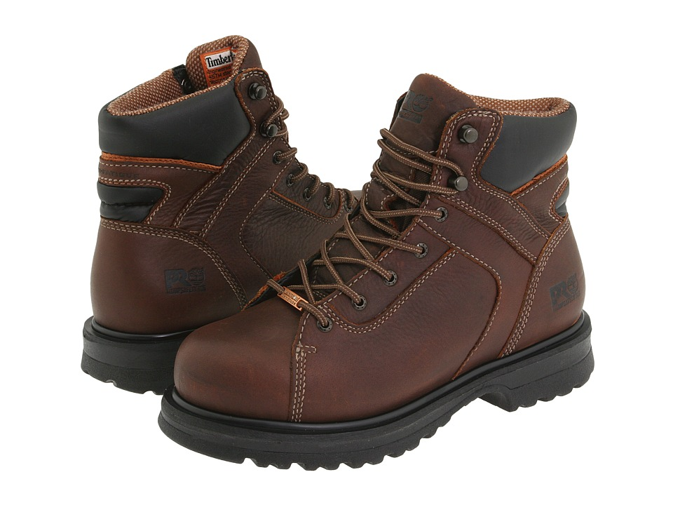 Timberland Rigmaster 6 Waterproof Alloy Safety Toe (Brown) Women
