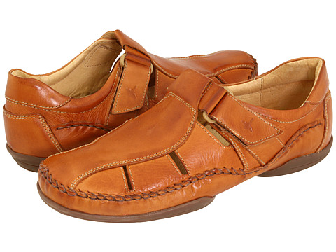 Pikolinos - Puerto Rico Fisherman 03A-6745 (Brandy Leather) Men's Slip on Shoes