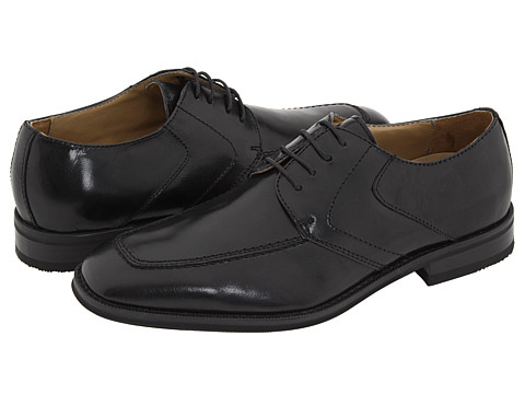 Bass - Abilene (Black Leather) Men's Shoes