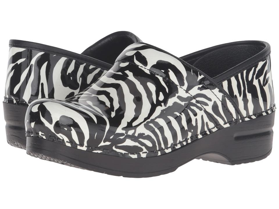 Dansko - Professional (Zebra Patent) Clog Shoes