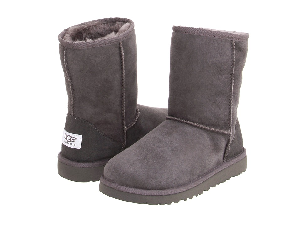 UGG Kids - Classic (Little Kid/Big Kid) (Grey) Kids Shoes