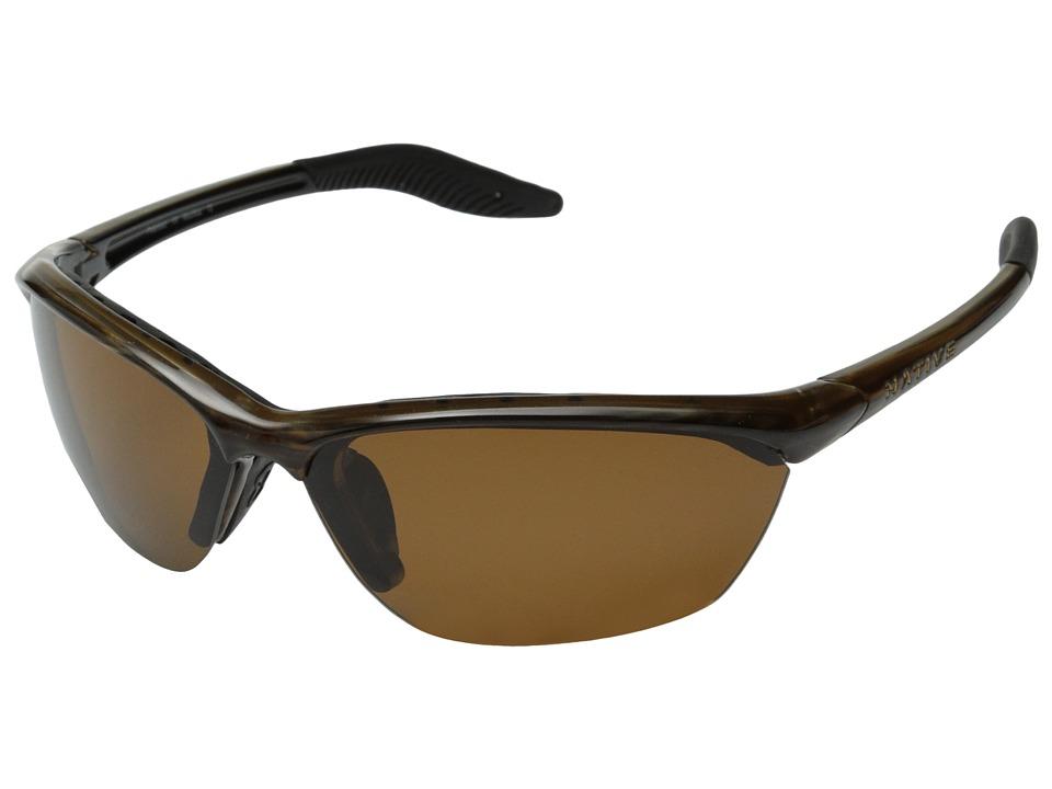 Native Eyewear - Hardtop (Wood/Brown Lens) Sport Sunglasses