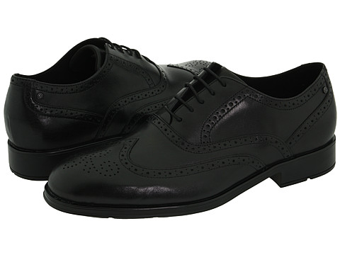 Rockport - Proper Place Almartin (Black Leather) Men