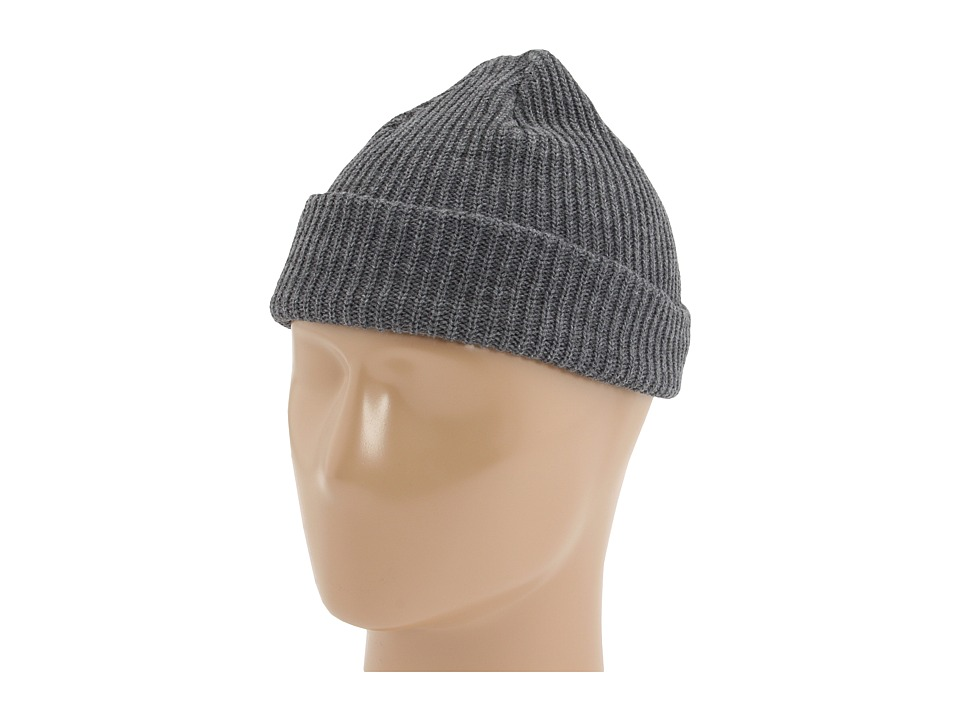 Brixton - Heist Beanie (Heather Gray) Beanies