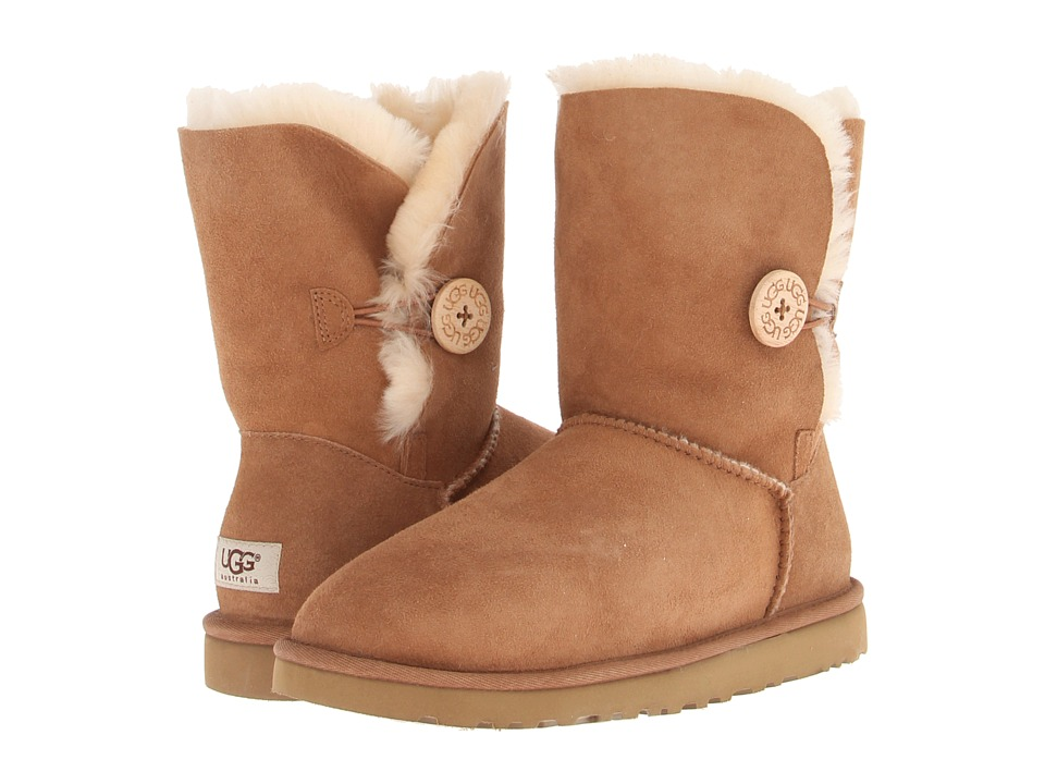 UGG - Bailey Button (Chestnut) Women's Boots