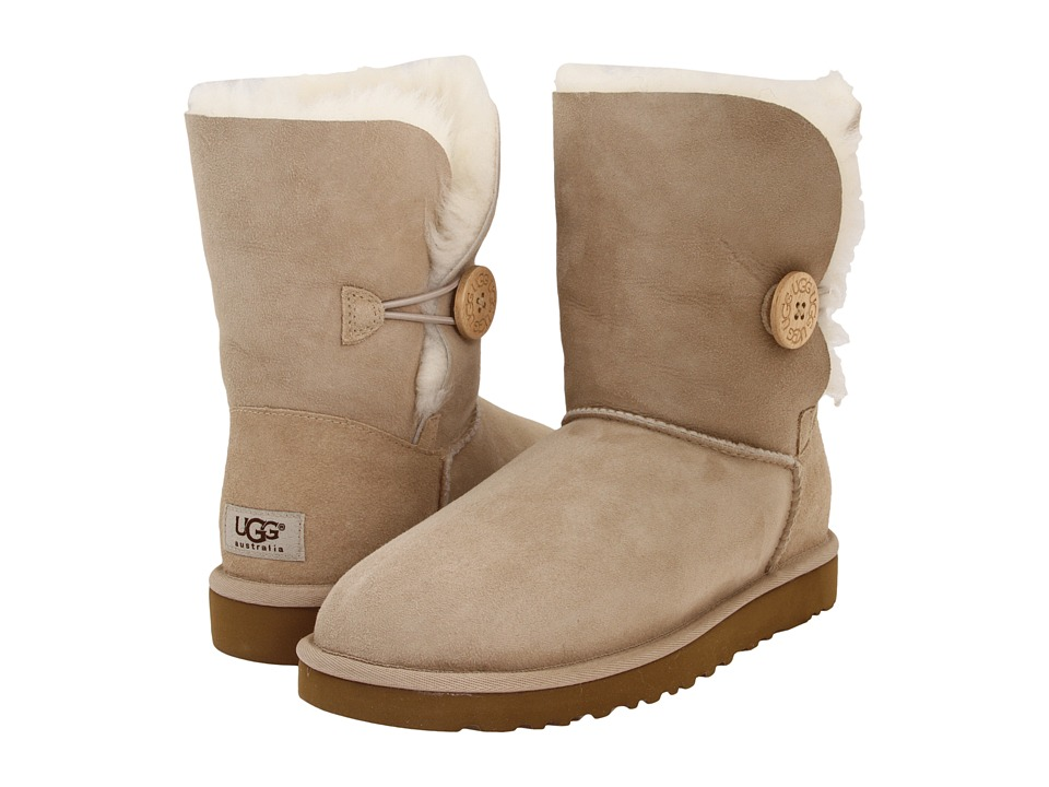 UGG - Bailey Button (Sand) Women's Boots