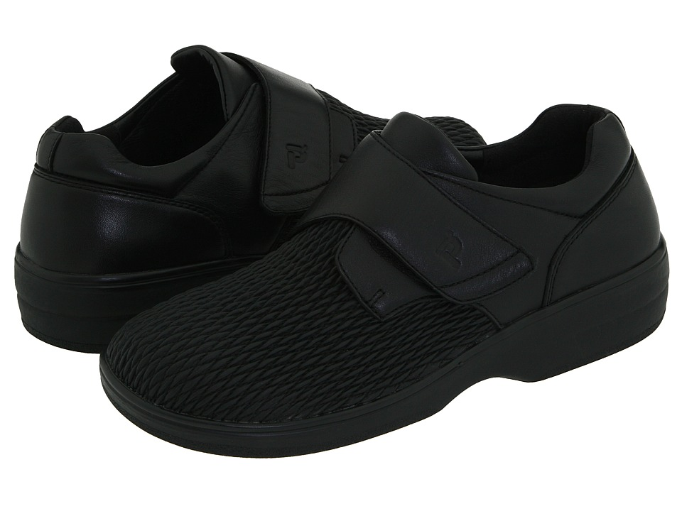 Propet - Olivia Medicare/HCPCS Code=A5500 Diabetic Shoe (Black) Women's Hook and Loop Shoes