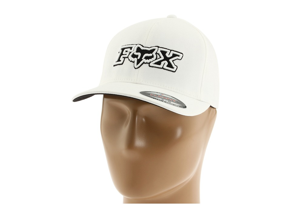 Fox - Corpo Flexfit Hat (White) Caps