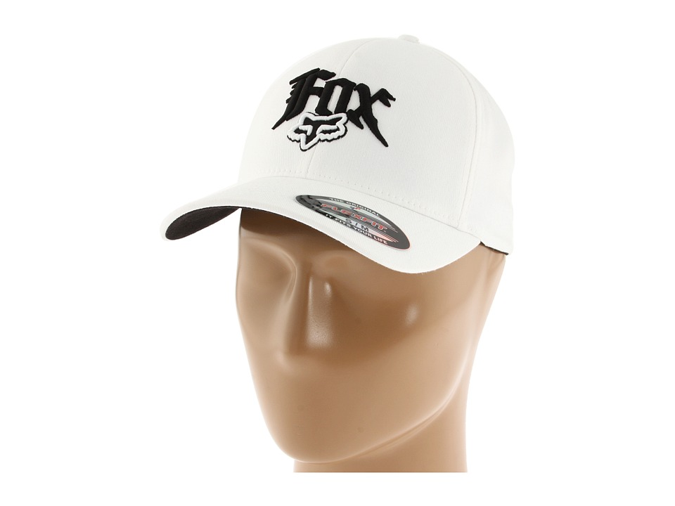 Fox - Next Century Flexfit Hat (White) Caps