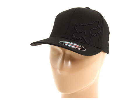 Fox - Faith Flex 45 Flexfit Hat (Black) Caps