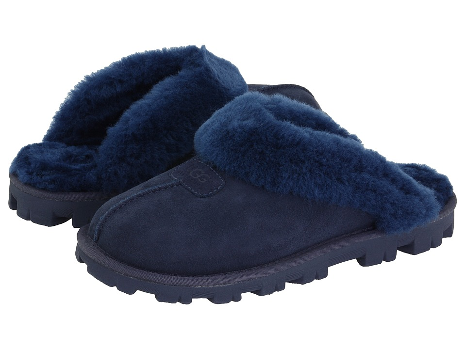 UGG - Coquette (Navy) Women's Slippers