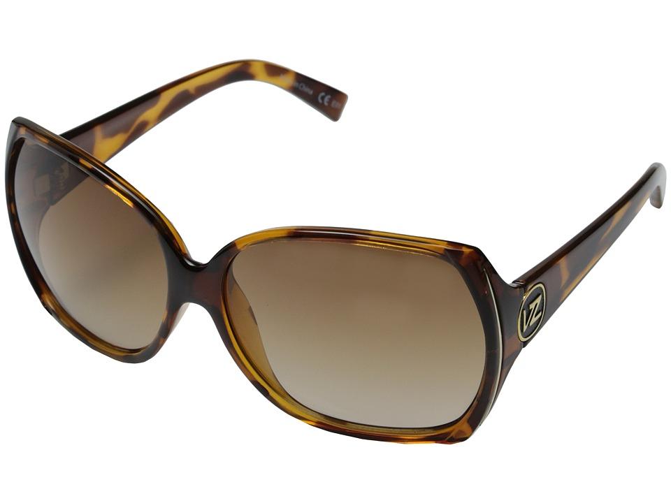 VonZipper - Trudie (Tort/Gradient Lens) Sport Sunglasses
