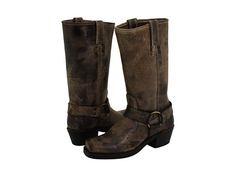 Frye - Harness 12R (Chocolate Vintage Leather) Women's Pull-on Boots