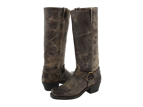 Frye - Harness 15R (Chocolate Vintage Leather) Women