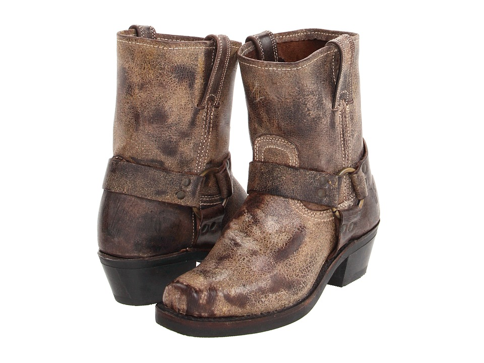 Frye - Harness 8R (Chocolate Vintage Leather) Women's Pull-on Boots