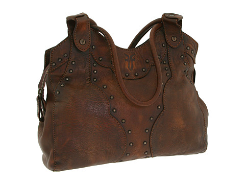 Frye - Vintage Stud Shoulder Bag (Maple) Shoulder Handbags