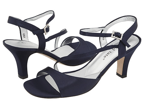 David Tate - Beverly (Navy Satin) Women