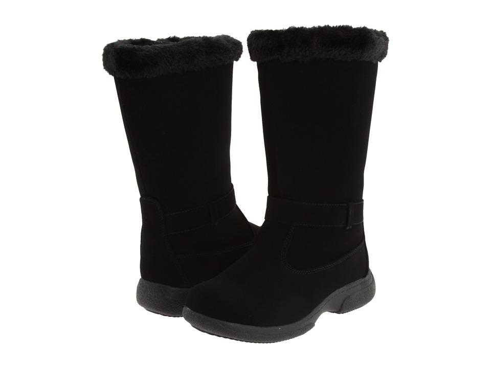 Tundra Boots Kids - Ruth (Toddler/Little Kid/Big Kid) (Black) Girls Shoes