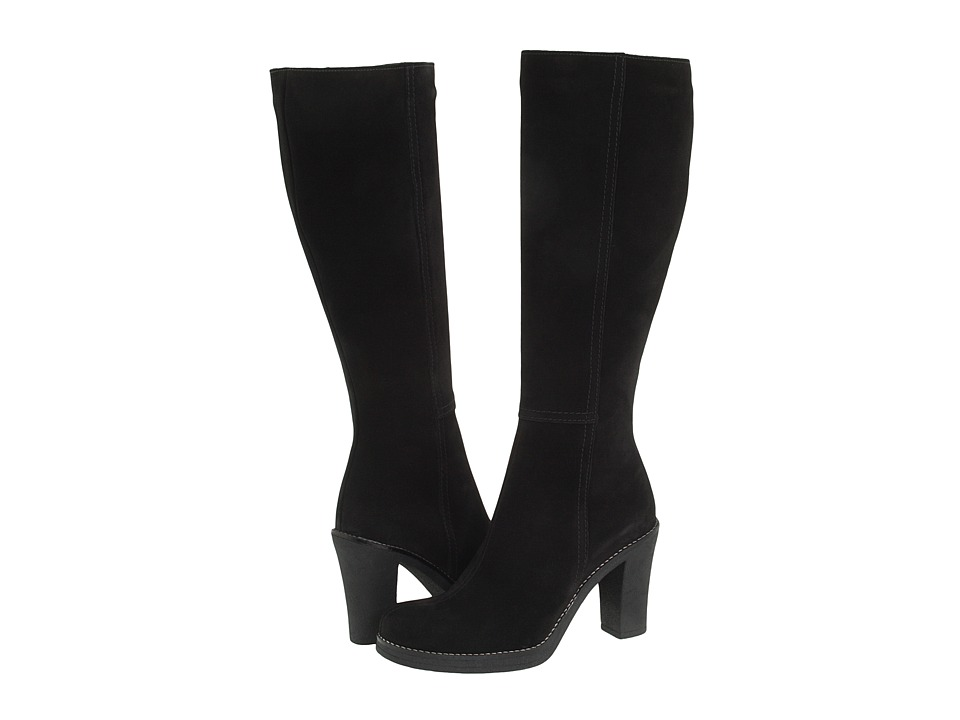 La Canadienne - Kloe (Black Suede) Women