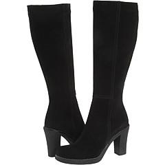 La Canadienne Kloe (Black Suede) Footwear