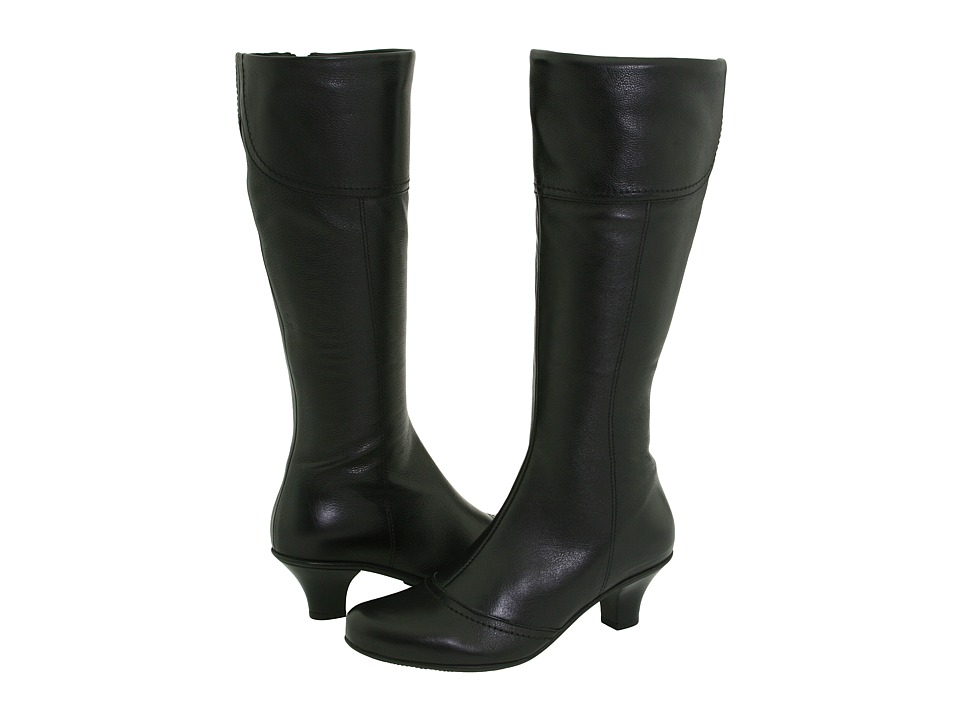 La Canadienne - Ramona (Black Leather) Women's Dress Boots