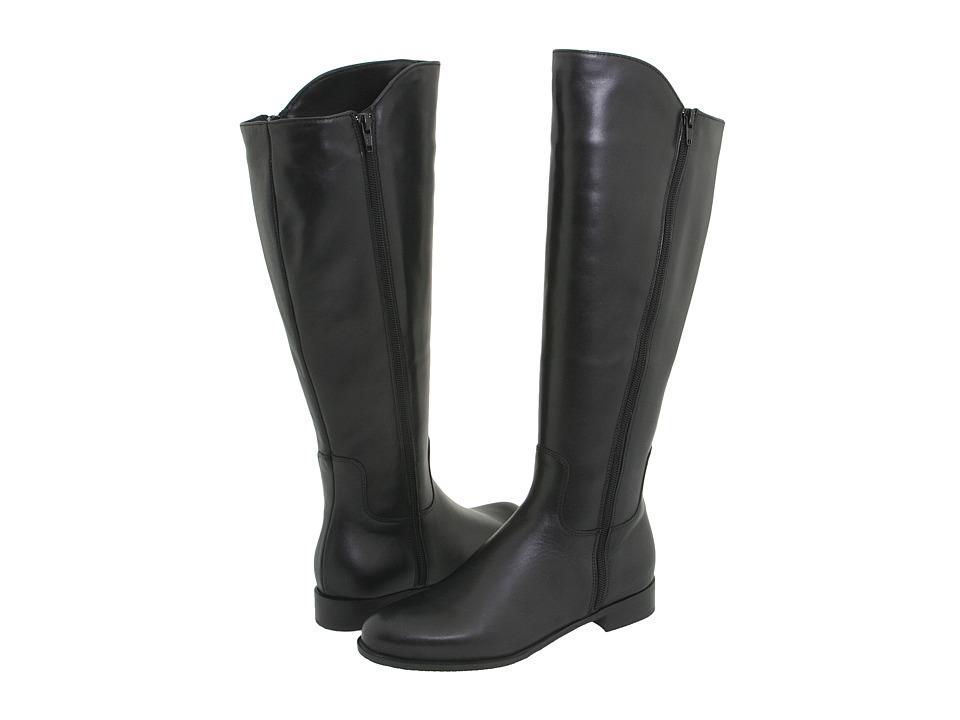La Canadienne - Serafina (Black Leather) Women's Dress Zip Boots
