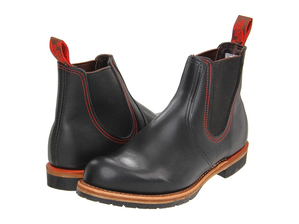 Red Wing Heritage - Chelsea Rancher (Black) Men's Pull-on Boots