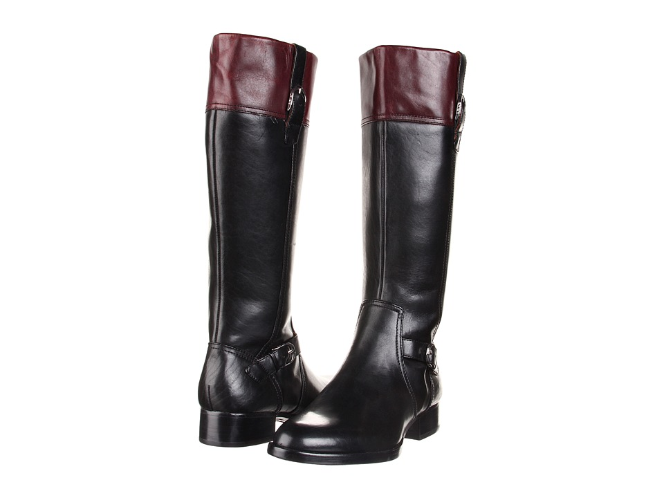 Ariat - York (Black/Cordovan) Women's Zip Boots
