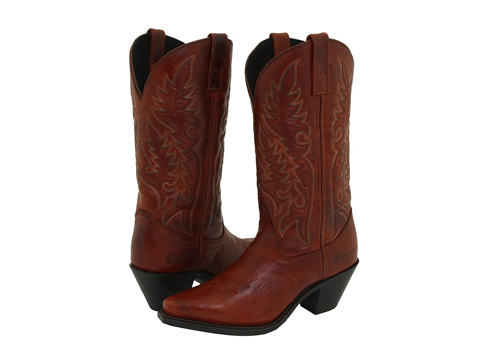 Laredo - Madison (Burnt Cimarron) Cowboy Boots